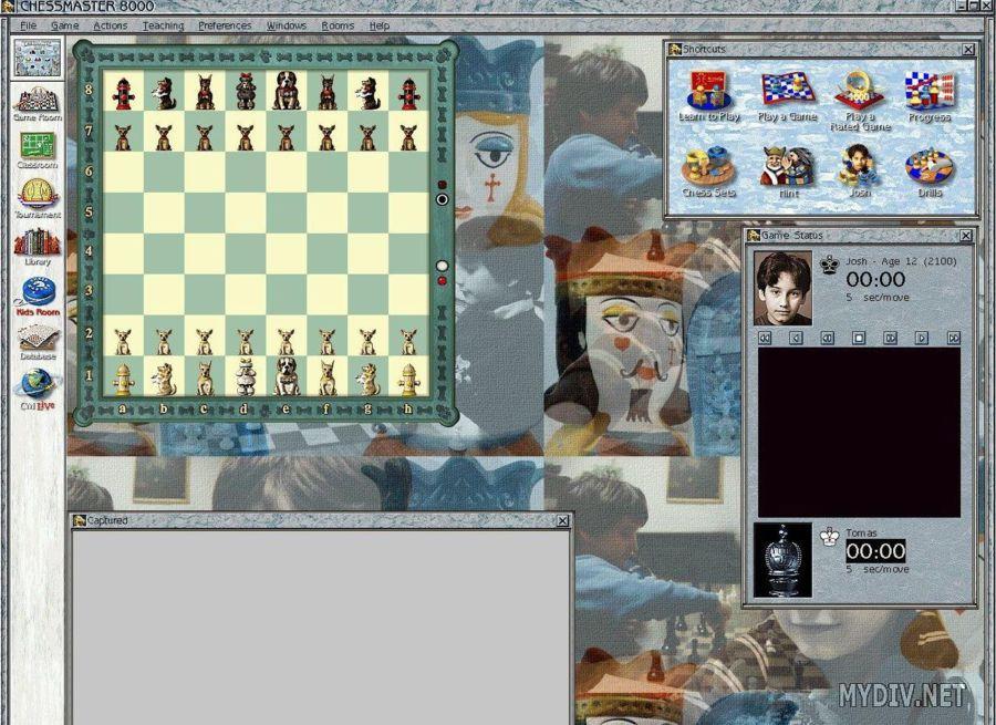 Скриншот из игры Chessmaster 8000 под номером 5. Смотреть полную версию скр