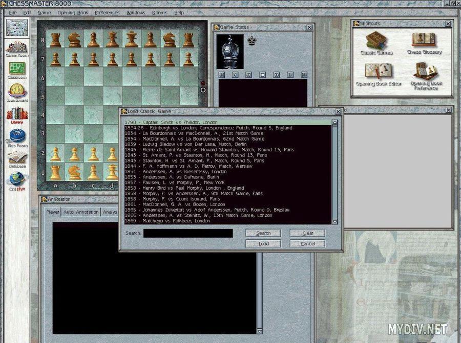 Скачать игру chessmaster 8000 бесплатно одним файлом, безрегистрации chessm