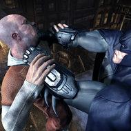Так тут Бэтмен бьёт или душит противника?