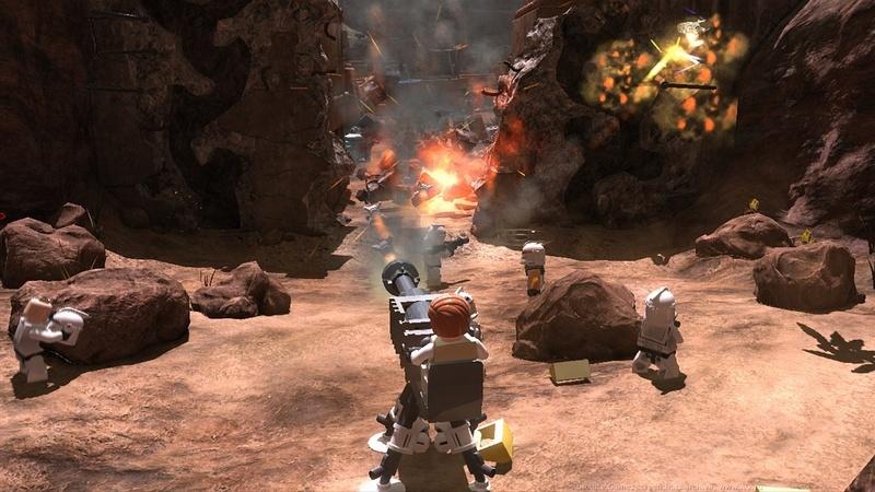 скачать бесплатно игру на компьютер через торрент Lego Star Wars 3 - фото 8