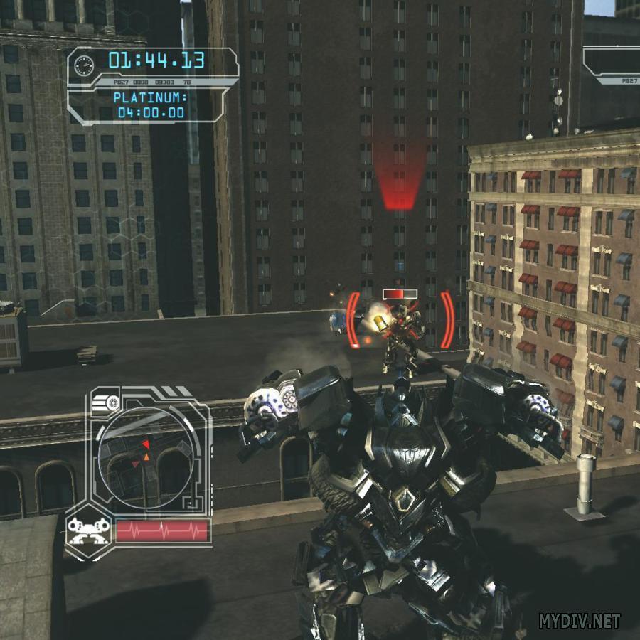 Скриншоты игры. Transformers Revenge of the Fallen.