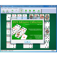 Версия игры BVS Solitaire Collection