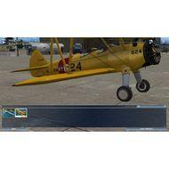 Скриншот Microsoft Flight - дополнительный самолет, который доступен только после введения кода