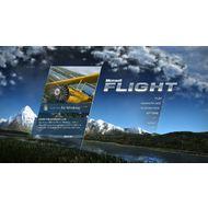 Скриншот Microsoft Flight - главное меню